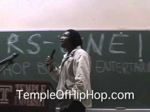 KRS-ONE: Hip Hop Beyond Entertainment (Part 1 of 2)