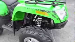 7. 2011 Arctic Cat 550 ATV, for sale in Texas, 62 miles, powersteering, 4x4
