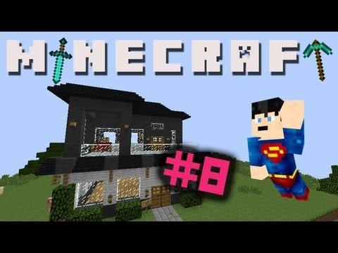Minecraft with SashiMimi # 8 - New House!!, Superhero husband!