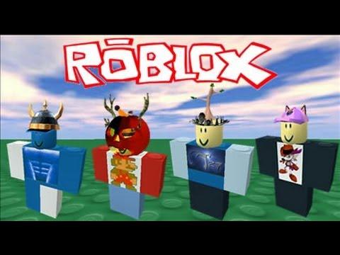ROBLOX Character Glitch (free stuff)
