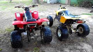8. Honda 400ex Comparison - 2004 and 2005