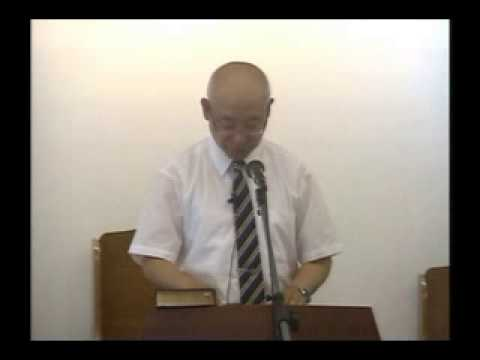 2015年6月13日「目を覚ましていなさい」藤田昌孝牧師