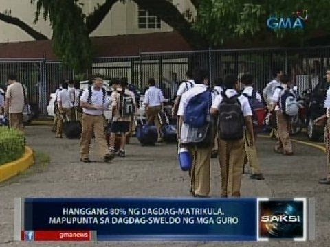 tuition - Pinayagan ng Department of Education ang 260 pribadong elementary at high school sa Metro Manila na magtaas ng matrikula sa darating na pasukan. Ayon sa DepE...