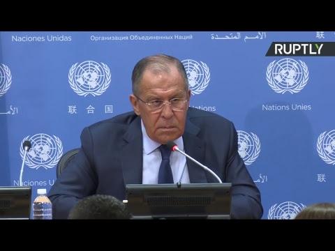 Лавров подводит итоги работы на Генассамблее ООН (видео)
