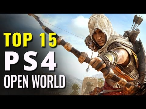 Top  15 Open World PS4 Games of All Time