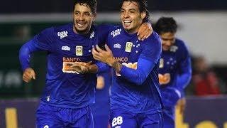 7ª RODADA - Cruzeiro vence de virada (com Gols de Marcelo Moreno, Ricardo Goulart e Willian ) tira invencibilidade do Inter, e permanece na Liderança.