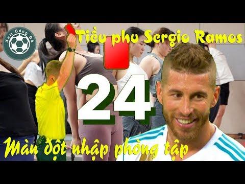 Tiều phu đốn củi Sergio Ramos và những màn đột nhập phòng tập của chị em @ vcloz.com