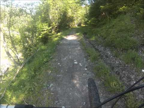MTB Stubaital, Sonnenstein, Stubai, Mountainbiken Stubaital, Downhill, Fulpmes, Mieders, (видео)