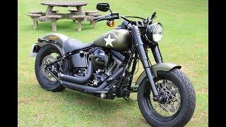 9. 2017 Softail Slim S Review - Harley Davidson