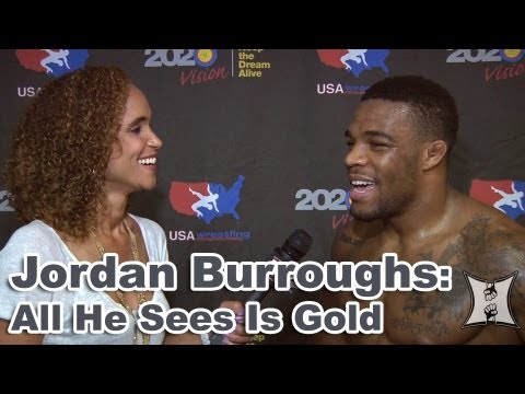 youtube career - MMA H.E.A.T.'s Karyn Bryant catches up with 2012 Olympic Gold Medalist Jordan Burroughs at the United 4 Wrestling event in Los Angeles and talks to him about...