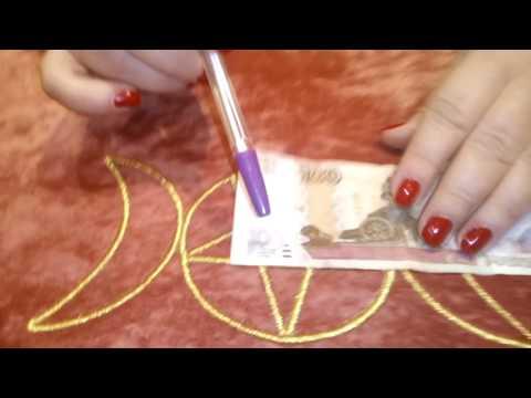 Как снять денежную порчу на убывающую луну