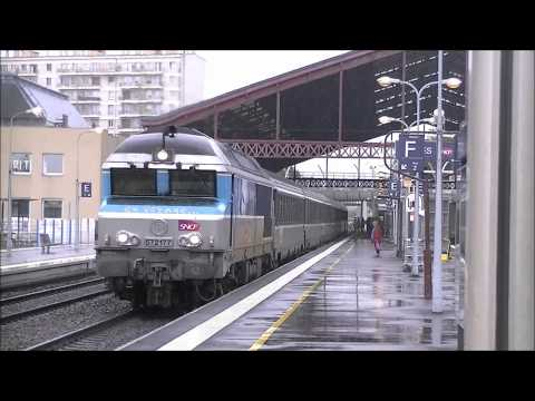 sncf - Vido Tourne sur la ligne 4 Sncf Paris-Troyes-Belfort-Mulhouse et Bale. En raison de la mise en service du TGV Rhin-Rhone les Intercits n'iront que jusqu'...
