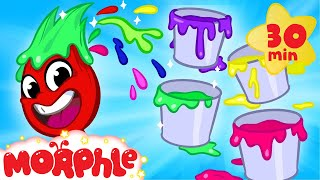 Video My Magic Color Game! Learn about colors for kids with Morphle! MP3, 3GP, MP4, WEBM, AVI, FLV Juli 2019