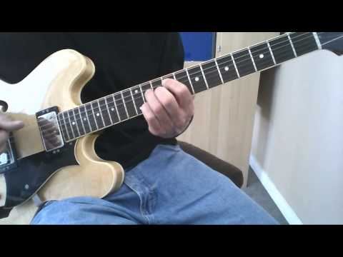 Learn to Play Basic Beginner Jazz Guitar Chords Lesson. Guitar Chords for 2 – 5 – 1 Progressions.