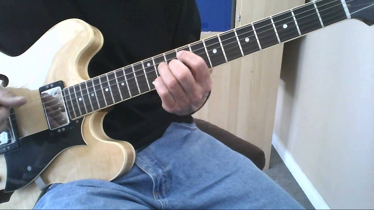 Learn to Play Basic Beginner Jazz Guitar Chords Lesson. Chords for 2 – 5 – 1's. James Nichols.