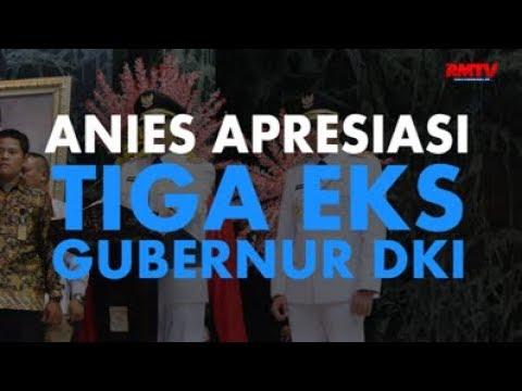 Anies Apresiasi Tiga Eks Gubernur DKI