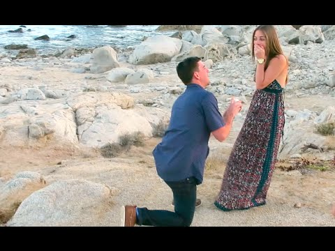 SURPRISE ENGAGEMENT CAUGHT ON TAPE!!! (341)