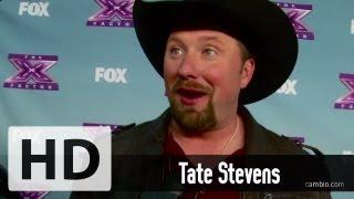 X Factor's Tate Stevens, Demi Lovato, Simon Cowell Talk Tate's Win: Cambio