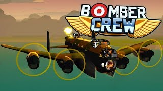 Bomber Crew - Bomber Training Gone Wrong! - Saving A Downed Spitfire! - Bomber Crew Gameplay Pt 1