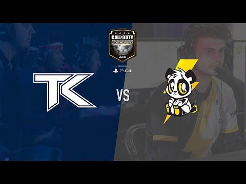 Lightning Pandas vs Team Kaliber   CWL Champs 2018   Day 1 (видео)