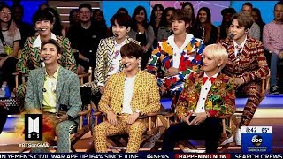 Video BTS Chats The Success Of The Group & Speaking At The U.N. On (GMA) MP3, 3GP, MP4, WEBM, AVI, FLV Juli 2019