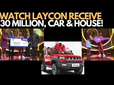 BBNAIJA 2020 WINNER PRESENTATION - LAYCON BIG BROTHER NAIJA 2020 WINNER