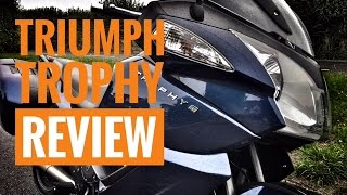 8. 2016 Triumph Trophy Review