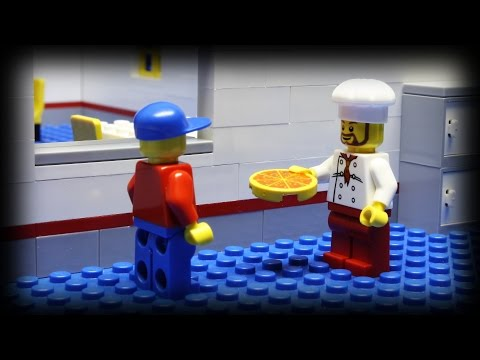 LEGO - The epic fifth episode of the pizza delivery series. People are getting pretty desperate to get a taste of pizza... and some people have a large appetite. Mu...