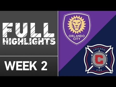 Video: HIGHLIGHTS: Chicago Fire vs. Orlando City SC | March 11, 2016
