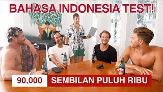Video Canadians Take Indonesian Language Test! (Did We Pass?) MP3, 3GP, MP4, WEBM, AVI, FLV September 2018
