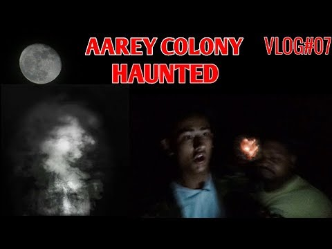 Ghost Spotted in Aarey colony || horror || VLOG#07