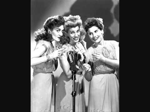 Tekst piosenki The Andrews Sisters - A Jitterburg's Lullaby po polsku