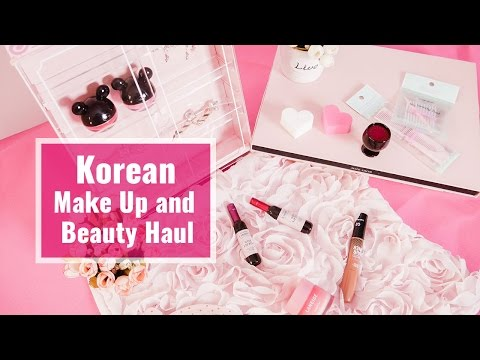 Korean Make Up & Beauty Haul