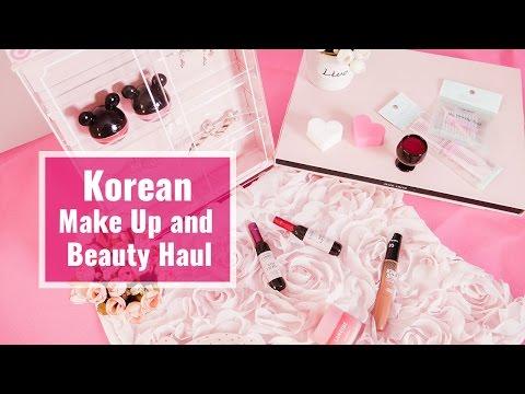 Korean Make Up & Beauty Haul