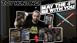 Video TOY HUNTING ON STAR WARS DAY(FORCE FRIDAY?/MAY THE 4TH BE WITH YOU) MP3, 3GP, MP4, WEBM, AVI, FLV Juni 2018