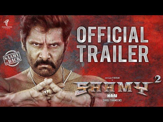 சாமி2 Official Trailer