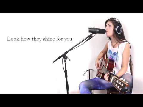 """Coldplay  """"Yellow"""" Cover by Julia Westlin"""
