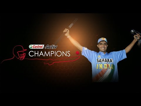Castrol Activ Champions: Sourav Ganguly