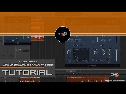 CPU System Overload Fix (Track Freeze) Logic Pro 9/Logic Pro X #DailyHeatChecc