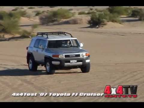 2007 Toyota FJ Cruiser Test – 4x4TV Test Videos
