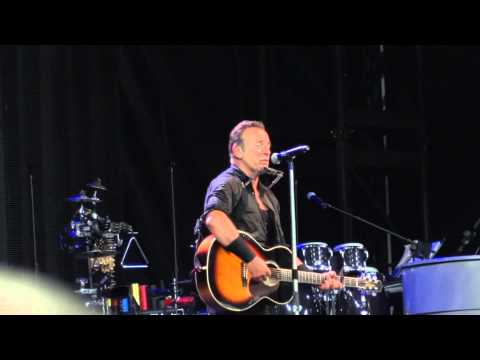Bruce Springsteen - Thunder Road - Wembley Stadium June 15th 2013