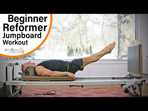 Beginner Reformer Jumpboard Interval Workout