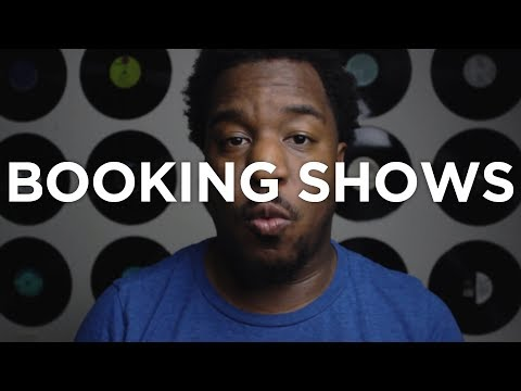 How To Book Live Shows As An Independent Artist