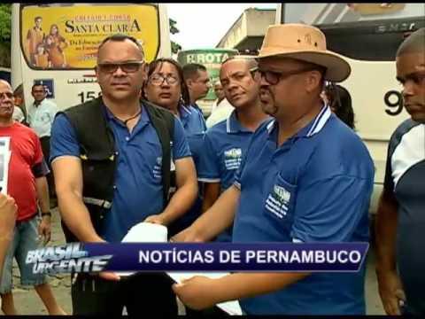 Protesto contra precariedade do T.I de Jaboatão Velho
