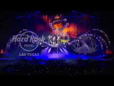vegas - KISS ROCKS VEGAS NOVEMBER 5 - 23 HARD ROCK HOTEL Rock 'n' roll legends KISS celebrate 40 years as music icons with their first-ever residency, KISS Rocks Vegas, at The Joint inside Hard...