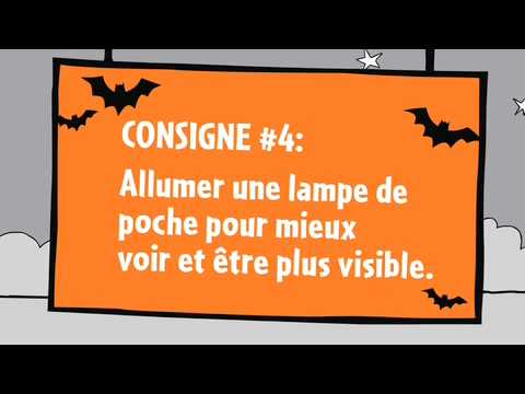 Web �pisode 4 de L�on - Les consignes de s�curit� pour l'Halloween
