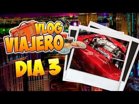 """Vlog Viajero Las Vegas Dia 3 """"Carros, Audio y Gadgets chidos"""""""