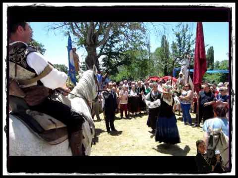 Fiestas en ENDRINAL. 2012 la virgen del MENSEGAL. El Mariquelo.
