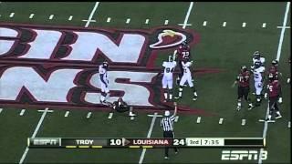 Jonathan Massaquoi vs Louisiana Lafayette 2011