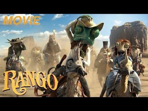 """RANGO - """"THE CHAMELEON SHERIFF"""" -""""THE MOVIE"""" Let's Play Walkthrough -(XBOX360)"""